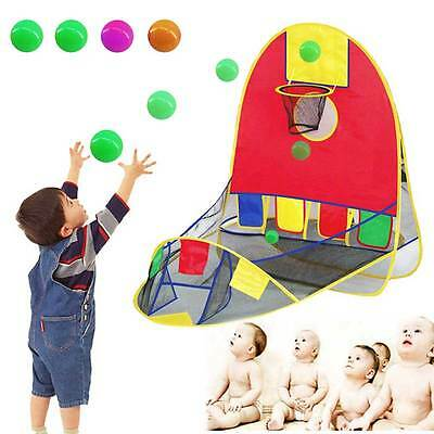 House Basketball Basket Tent Beach Lawn Tent Ball Pool Outdoor Sport Kid Toys HC