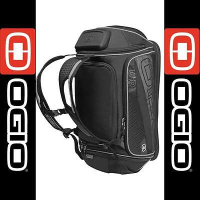 Ogio 8.0 Endurance Kit Bag - Black/silver Gear Bag Luggage Holdall