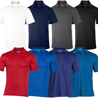 Under Armour Mens UA Performance Polo Shirt - Brand New Low Price