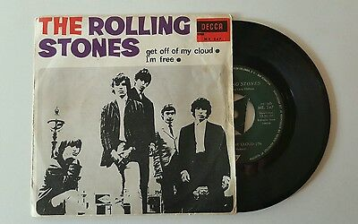 The rolling stones Get off of my cloud rare spanish edition