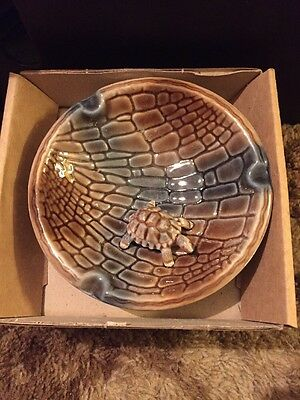 VINTAGE WADE TORTOISE ASHTRAY with Box