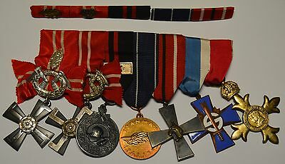 Finland 1939-45 Medal Group with 5th Div Cross & British Order of The Empire