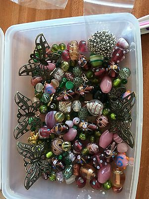 mixed beads for jewellery making