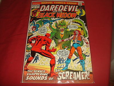 DAREDEVIL AND THE BLACK WIDOW #101 Cents Mark Jeweler Marvel Comics 1973 FN/VF