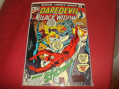DAREDEVIL AND THE BLACK WIDOW #102  Marvel Comics 1973 FN/VF