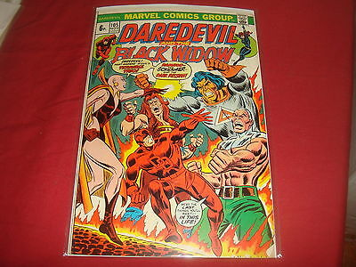 DAREDEVIL AND THE BLACK WIDOW #105   Bronze Age Marvel Comics 1973 FN/VF