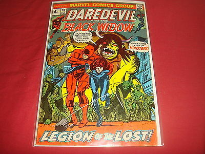 DAREDEVIL AND THE BLACK WIDOW #96   Bronze Age Marvel Comics 1973 FN/VF