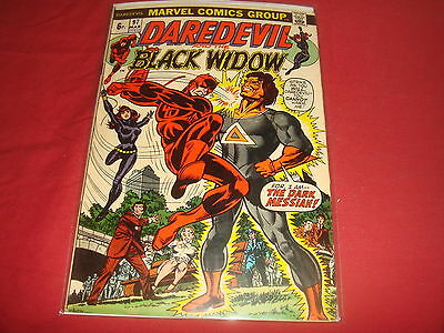 DAREDEVIL AND THE BLACK WIDOW #97   Bronze Age Marvel Comics 1973 FN/VF