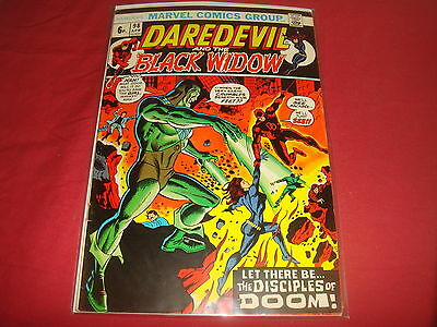 DAREDEVIL AND THE BLACK WIDOW #98   Bronze Age Marvel Comics 1973 FN+