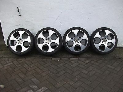 """18"""" Vw Monza Alloys Wheels With Tyres"""