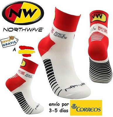CALCETINES CICLISMO NW CYCLING SOCKS, color Rojo