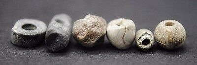 Group Of 6 Neolithic Stone Beads