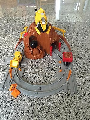 Fisher Price Geotrax Rail & Road System Mt. Blast Construction Co. (#B3007)