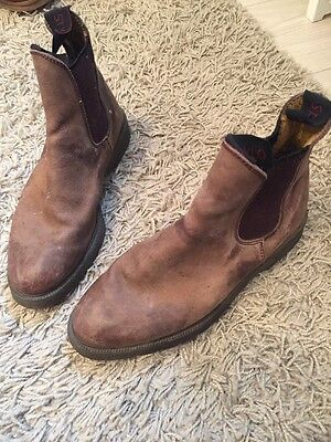 STYLO Brown Leather Jodhpur Boots - size 6