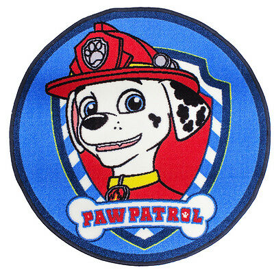 Official Licensed Product Paw Patrol Pawsome Shaped Rug Marshall Bedroom Mat New