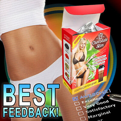 Weight Loss Chocolate Slim, Fat Burner Fast Shake Drink 100% Slim