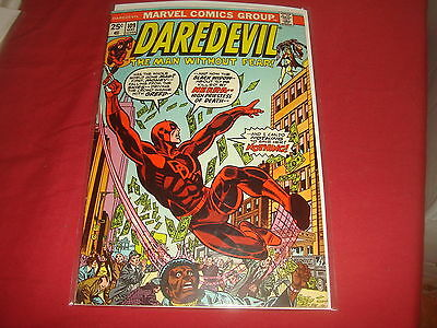 DAREDEVIL #109  Marvel Comics 1974 VF-