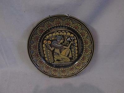 """Denby Ware Ltd Ed Egyptian Collection No. II """"The Queen's Handmaiden"""" plate 3683"""