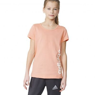 Tee shirt fille essential linear rose adidas