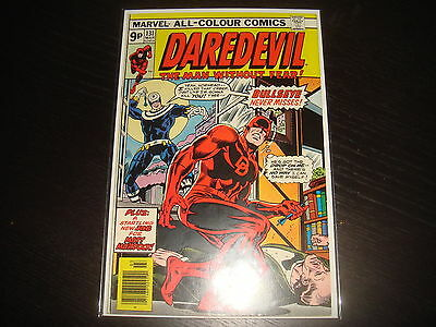 DAREDEVIL #131 1st New Bullseye  Marvel Comics 1976  VF