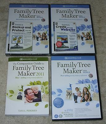 WORLDWIDE FAMILY TREE MAKER 2011 - Does NOT include 6 month subscription
