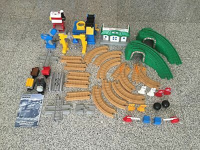 Fisher Price Geotrax Rail & Road System Tracktown Railway (#B1836) - Complete