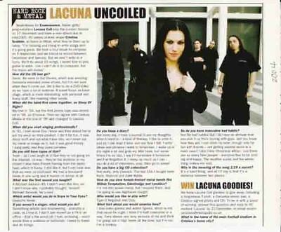Lacuna Coil : Interview Article -2004-