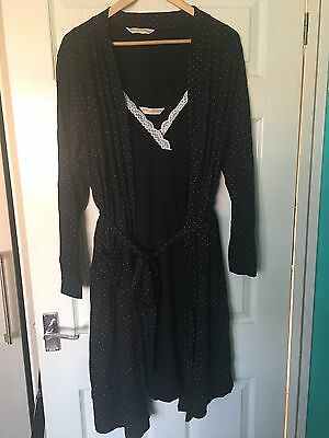 blooming marvellous Nightie And Dressing Gown Size L 16 18 Maternity Nursing