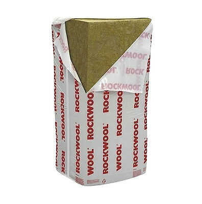 Rockwool Rwa45 Insulation Thermal, Fire & Acoustic 100Mm (2.88M2 Pk) X 10 Packs
