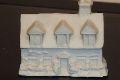 Small Parian Ware Cottage - Small - Perfect Condition