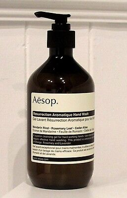Brand New High Quality Aesop Resurrection Aromatique Hand Wash 500ml
