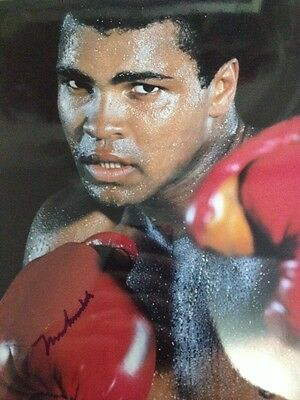 Photo Muhammed Ali signed By Muhammed Ali (autograph Muhammed Ali) With COA