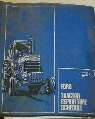 Ford 10 Series Tractor Service Bulletins & Folder