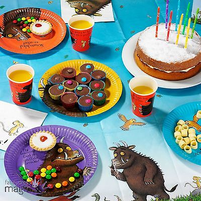 Talking Tables The Gruffalo Kids Party Partyware Plate Napkins Book Week Set Lot