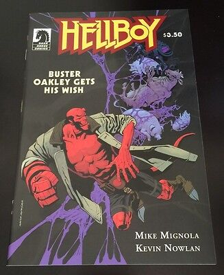 Hellboy Buster Oakley Gets His Wish (2010) Mike Mignola One Shot Dark Horse