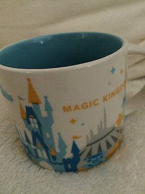 Starbucks Magic Kingdom YAH You Are Here City Mug Tasse Becher Disney OVP/SKU