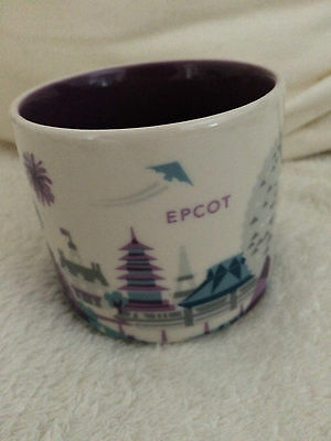 Starbucks Epcot YAH You Are Here City Mug Tasse Becher Disney OVP/SKU