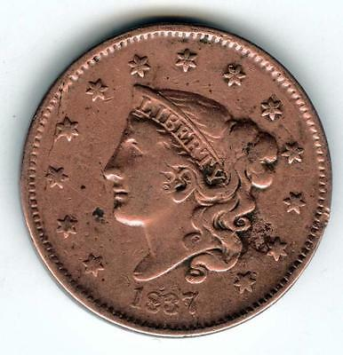 ******  1837 Large Liberty Head Cent In Lovely Condition   *******  #2