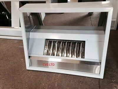 Commercial Kitchen Stainless Steel Canopy/hood 1000Mm , Collect Today Available!