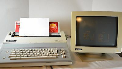100%  WORKING  Smith corona electric typewriter PWP 3700 MONITOR ONLY
