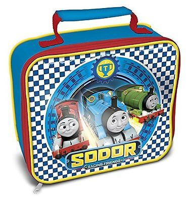 Thomas & Friends Racing Rectangle Lunchbag - Blue
