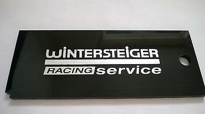 Wintersteiger Ski wax remover SCRAPER tool (6 by 2.5 inches)