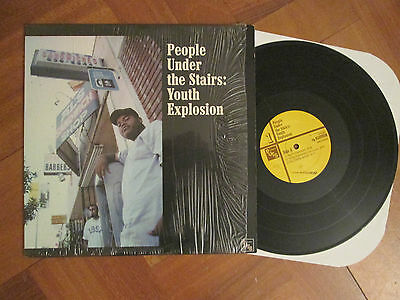 """People Under The Stairs – Youth Explosion - US Import 12"""" 2000"""