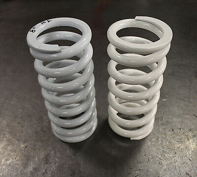 "(2) Pair of Coil-Over Springs Spring Rate: 10K / 560 lb Length: 8"" ID: 2.5"""