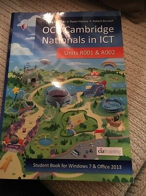 OCR Cambridge Nationals in ICT for Units R001 and R002 (Microsoft Windows 7 & O…