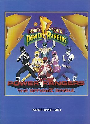 Power Rangers - The Official Single - 1994 Sheet Music