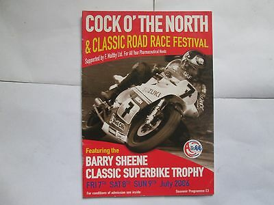 Cock O' The North Barry Sheene Classic 7-9 July 2006 Souvenir  Programme
