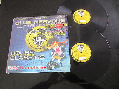 CLUB NERVOUS - FIRST FIVE YEARS OF HOUSE CLASSICS LTD ED 2 x LP MORALES ROGER S