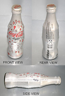 COCA COLA LIGHT 0,2l GLAS with FOIL - GERMANY WELTHERZTAG 29.09.12 LIMITED * TOP