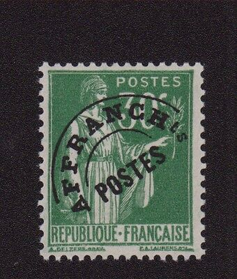 Preoblitere 069 N°69 Preo France 30 C Type Paix Neuf Gomme Sans Charniere